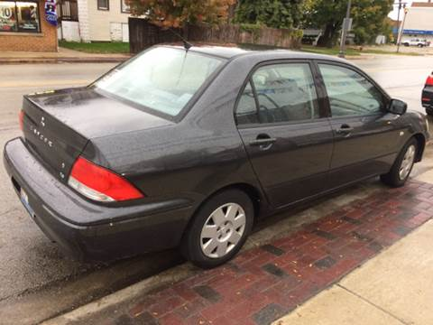 2002 Mitsubishi Lancer for sale at RIVER AUTO SALES CORP in Maywood IL