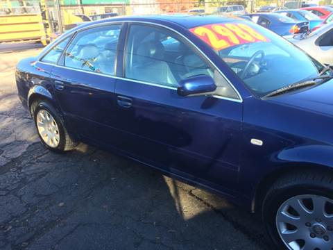 1999 Audi A6 for sale at RIVER AUTO SALES CORP in Maywood IL