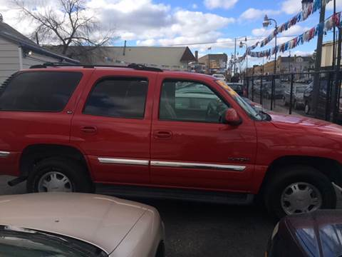 2001 GMC Yukon for sale at RIVER AUTO SALES CORP in Maywood IL