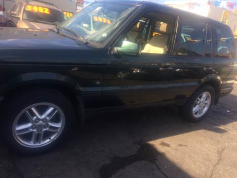 2000 Land Rover Range Rover for sale at RIVER AUTO SALES CORP in Maywood IL