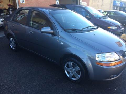 2006 Chevrolet Aveo for sale at RIVER AUTO SALES CORP in Maywood IL