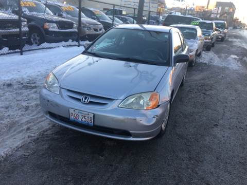 2003 Honda Civic for sale at RIVER AUTO SALES CORP in Maywood IL