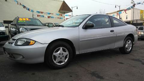 2003 Chevrolet Cavalier for sale at RIVER AUTO SALES CORP in Maywood IL