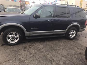 2002 Ford Explorer for sale at RIVER AUTO SALES CORP in Maywood IL