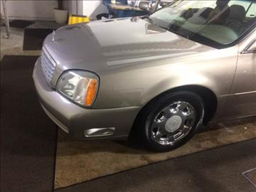 2002 Cadillac DeVille for sale at RIVER AUTO SALES CORP in Maywood IL
