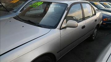 1996 Toyota Corolla for sale at RIVER AUTO SALES CORP in Maywood IL