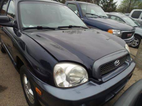 2004 Hyundai Santa Fe for sale at RIVER AUTO SALES CORP in Maywood IL