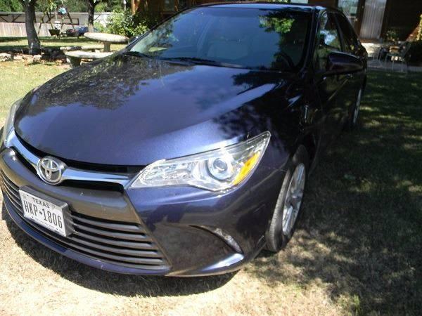 2016 Toyota Camry LE 4dr Sedan - San Antonio TX