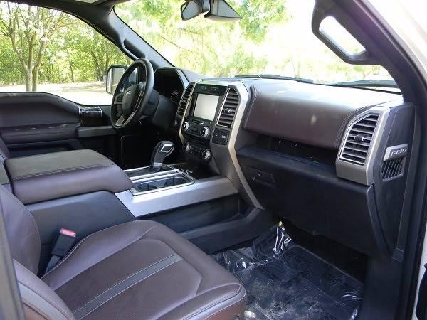 2015 Ford F-150 4x4 Platinum 4dr SuperCrew 5.5 ft. SB - San Antonio TX