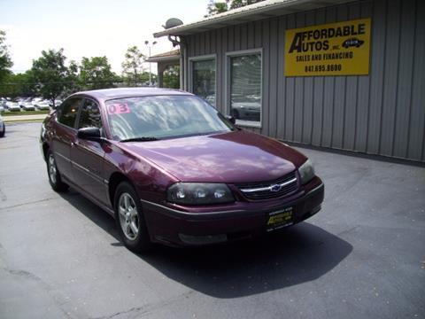 2003 Chevrolet Impala for sale in Elgin, IL