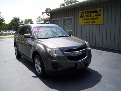 2010 Chevrolet Equinox for sale in Elgin IL