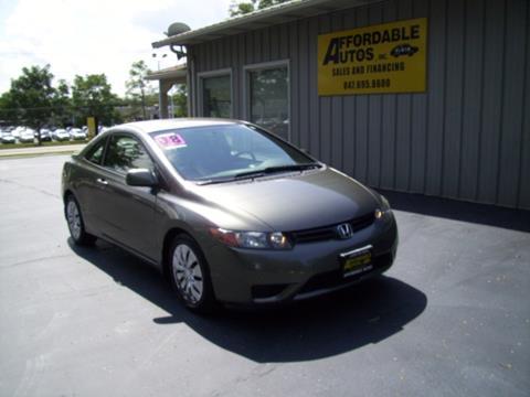 2008 Honda Civic for sale in Elgin IL