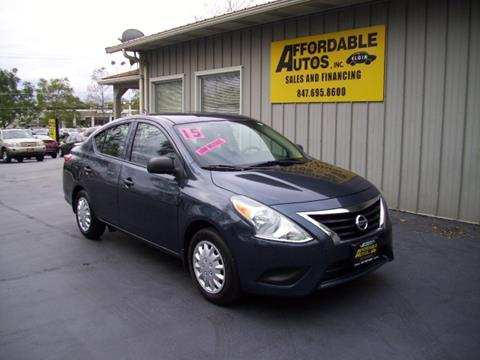 2015 Nissan Versa for sale in Elgin, IL