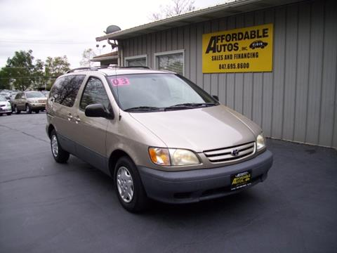 2003 Toyota Sienna for sale in Elgin, IL