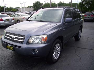 2007 Toyota Highlander Hybrid for sale in Elgin, IL