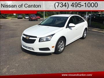 2014 Chevrolet Cruze for sale in Canton, MI