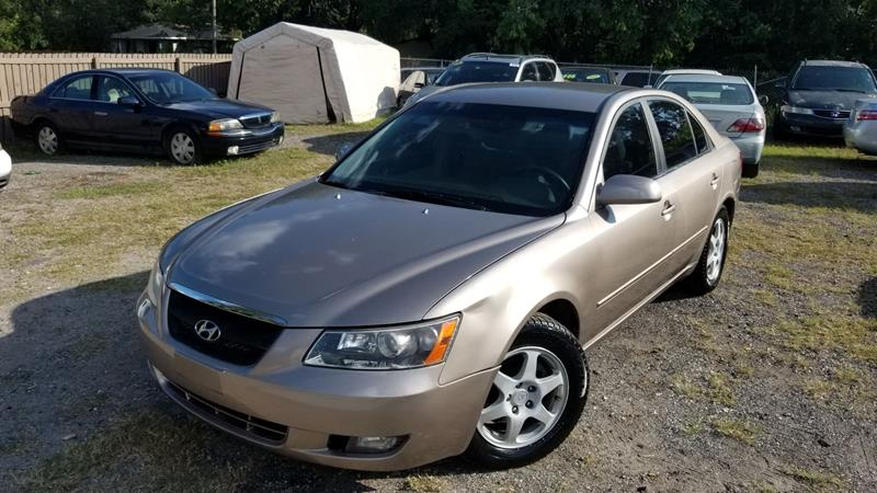 2006 Hyundai Sonata For Sale At Firm Life Auto Sales In Seffner FL