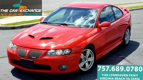 2006 Pontiac GTO for sale in Virginia Beach, VA