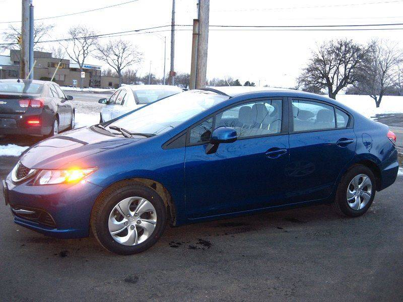 2013 Honda Civic LX 4dr Sedan 5A - Rochester NY