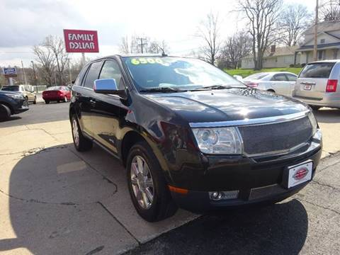 2007 Lincoln MKX for sale at Used Car Factory Sales & Service in Troy OH