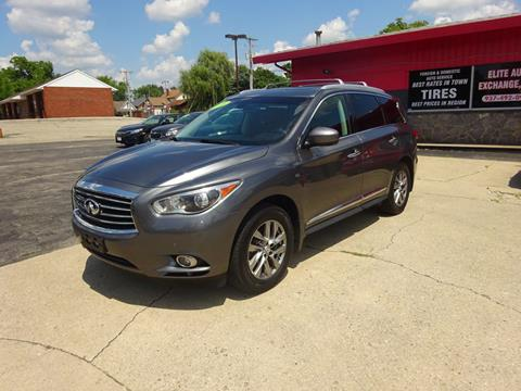 2015 Infiniti QX60 for sale at Used Car Factory Sales & Service in Troy OH