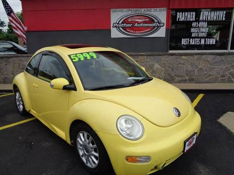 2004 Volkswagen New Beetle for sale at Used Car Factory Sales & Service Troy in Troy OH