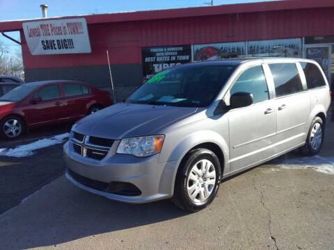 2014 Dodge Grand Caravan for sale at Used Car Factory Sales & Service Sidney in Sidney OH