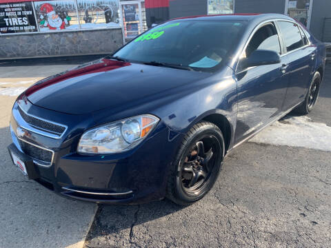 2010 Chevrolet Malibu for sale at Used Car Factory Sales & Service Sidney in Sidney OH