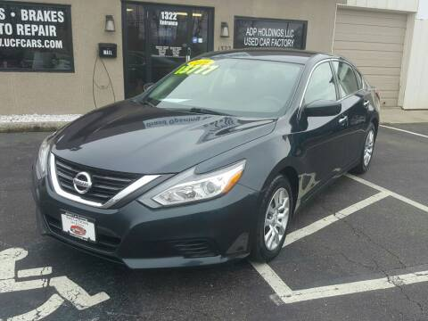 2016 Nissan Altima for sale at Used Car Factory Sales & Service Troy in Troy OH