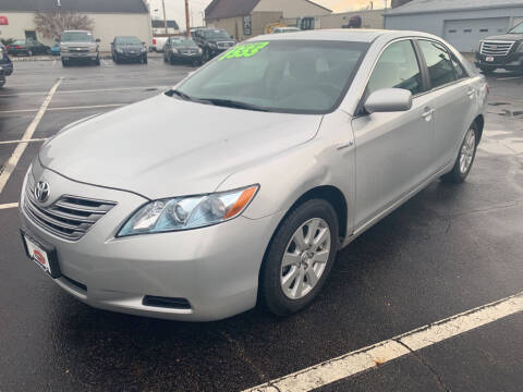 2009 Toyota Camry Hybrid for sale at Used Car Factory Sales & Service Troy in Troy OH