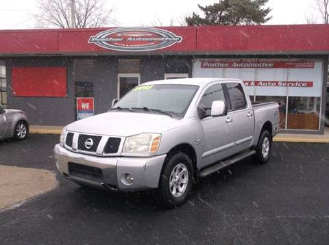 2004 Nissan Titan for sale at Used Car Factory Sales & Service Troy in Troy OH