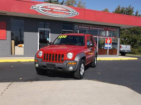 2003 Jeep Liberty for sale at Used Car Factory Sales & Service in Troy OH