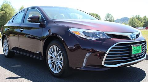2018 Toyota Avalon Hybrid for sale in Chehalis, WA