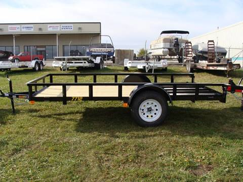 2016 Doolittle 77 X 12 Utility Trailer