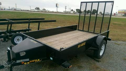 2016 Doolittle 66 X 10 Utility Trailer