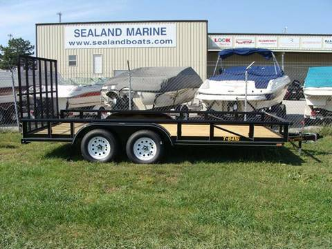 2016 Doolittle 84 x 16 Utility Trailer