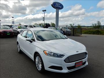2016 Ford Fusion Hybrid for sale in Chehalis WA