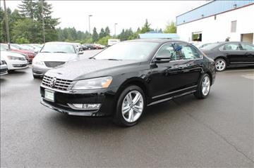 2015 Volkswagen Passat for sale in Olympia, WA