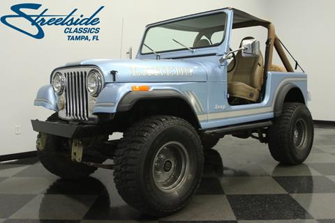 1985 Jeep CJ-7 For Sale in Florida - Carsforsale.com
