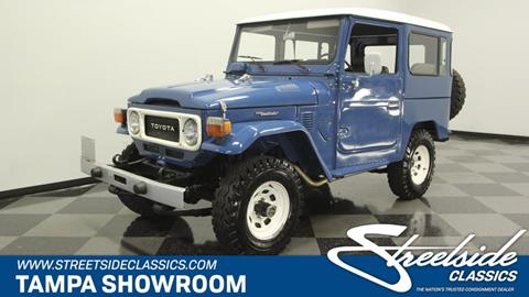 1985 Toyota Land Cruiser For Sale In Tampa, FL