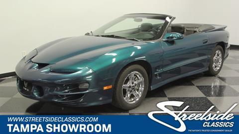 2001 Pontiac Firebird for sale in Tampa, FL