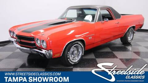 1970 Chevrolet El Camino for sale at Streetside Classic Cars in Tampa FL