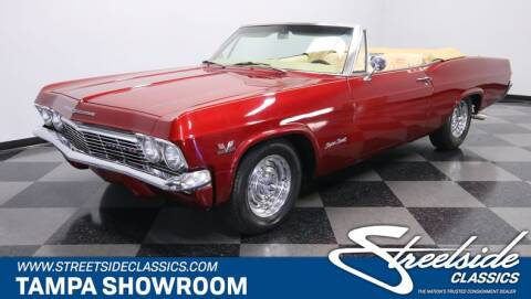1965 Chevrolet Impala for sale at Streetside Classic Cars in Tampa FL