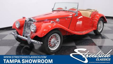 1954 MG TF for sale at Streetside Classic Cars in Tampa FL