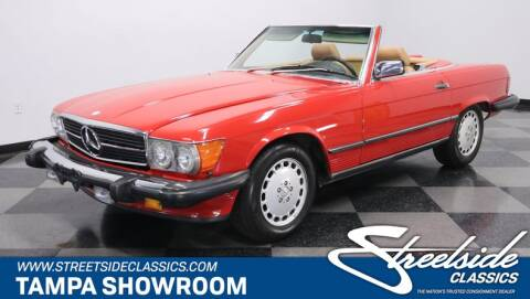 1986 Mercedes-Benz 560-Class 560 SL for sale at Streetside Classic Cars in Tampa FL