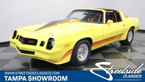 1981 Chevrolet Camaro for sale at Streetside Classic Cars in Tampa FL
