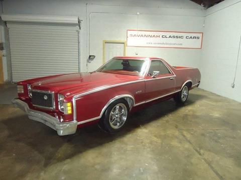 1978 ford ranchero for sale in savannah ga