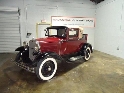 1930 Ford Model A for sale in Savannah, GA