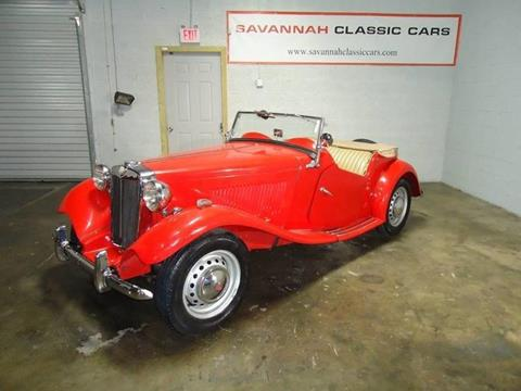 1952 MG TD for sale in Savannah, GA