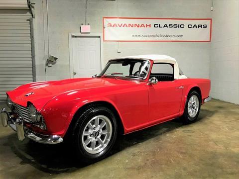1963 Triumph TR4 for sale in Savannah, GA